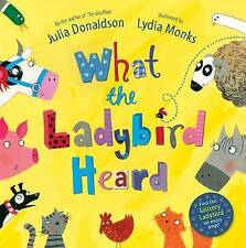 What The Ladybird Heard by Julia Donaldson (Paperback, 2010) glitter book