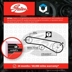 Balance Shaft Belt fits MITSUBISHI GRANDIS NA4W 2.4 04 to 11 4G69 Gates MD115977