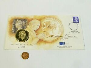 1995 200th Anniversary Proof Medal William Wyon Medallic Cover FDC No.16537