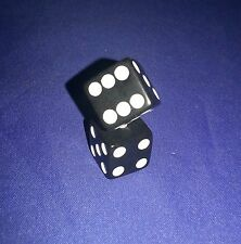 Clue Replacement Dice Black Game Part Piece