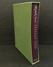 Italian Food Elizabeth David Illus Sophie MacCarthy Folio Society Slip Case 2007