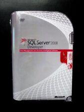 Microsoft SQL Server 2008 DEVELOPER E32-00673 UK Retail English DVD