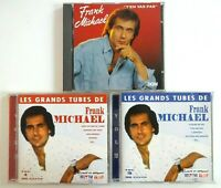 FRANK MICHAEL ♦ lot 3 x CD Albums ♦ inclus BEST OF
