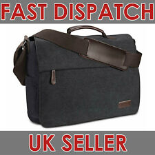"""RUSCHEN Premium Vintage Canvas Men's Shoulder Laptop Messenger Bag 15.6"""""""