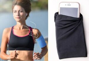 Sport Running Jogging Gym Armband Pouch Mobile Cell Phone Bag Holder Case Unisex