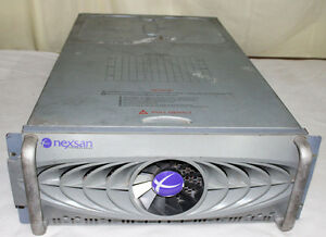 NexSAN SATAbeast MODEL-G284210000 HFRG S/N 2013610 FC iSCSI Storage Array RAID