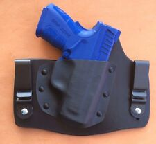leather/kydex hybrid IWB tuckable holster Springfield XD Mod 2 sc, 9mm and .40