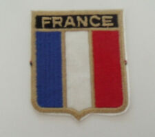 France Shield Flag Patch
