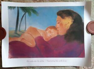 """Nurturing Love with Life """"Ho'oulu ola I ke aloha"""" by PEGGE HOPPER  ~ 1989 HAWAII"""