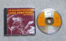 "CD AUDIO / LOUIS ARMSTRONG ""20 GOLDEN PIECES OF LOUIS ARMSTRONG AND FRIENDS"""