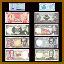BsS 2-500 Venezuela UNC Super Set 30 Pieces Bs 1-1000 Old Family BsF 2-10000