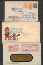 Australia, Advertising Cover x 6, Block Arcade, BNSW, Ginger Meggs Etc