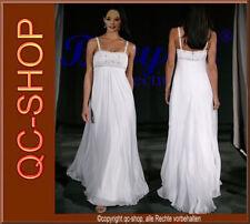 Robe de mariage Robe pour mariée Blanc ou crème 34 - 48 ou Dimensions BS004