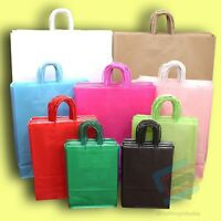 Twist Handle Paper Bag Party and Gift Carrier Bag / Bags With Twisted Handles