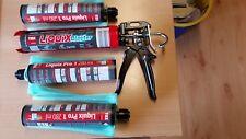 Tox Dübel  Auspresspistole Liquix Blaster 08460095+ 3x Verbundmörtel Liquix Pro1