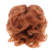 Hand Styled Global Dolls Carmen Size 13-14 Strawberry Blonde Doll Wig  DL058