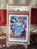 2018-19 Donruss Soccer Optic Rated Rookie #178 Phil Foden RC PSA 9 🔥📈 (1331)