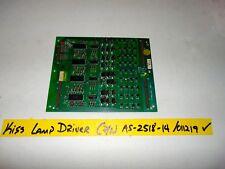 Bally Kiss Lamp Driver Board P/N  AS 2518-14 . B3