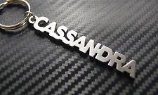 CASSANDRA  Keyring Keychain Key Bespoke Stainless Steel