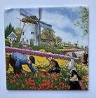 Hand Decorated Royal Schwabar Tile Royal Mosa Holland