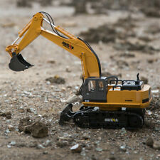 1:16 RC Truck 11CH Remote Control Excavator Tractor Simulation Construction Toys