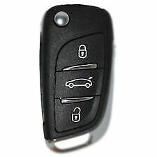 3 Button Remote Key Fob For Citroen C4 , DS4 433MHZ 6490KF- 5FA010354-10 ID46