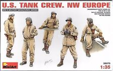 1:35 MiniArt 35070 - U.S. Tank Crew - NW Europe 5 Figure  Model Kit