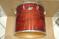 """1970s/80s Ludwig 16"""" NATURAL RED MAHOGANY TOM for YOUR DRUM SET! LOT #E143"""
