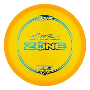 NEW Discraft Disc Golf Z Zone McBeth **Choose Weight/Color**