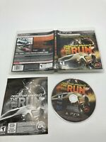 Sony PlayStation 3 PS3 CIB Complete Need for Speed: The Run Limited Edition