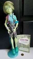 Monster High Haunted Student Spirits Porter Geiss Boy Doll Complete Hard to Find