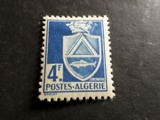 ALGERIE FRANCAISE 1942, timbre 182, ARMOIRIES neuf*, VF MH STAMP