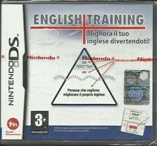 ENGLISH TRAINING - Migliora il tuo inglese divertendoti - nuovo - Nintendo DS