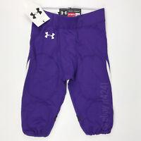 New Under Armour Renegade Football Game Pant Men's L Purple Northwestern