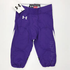 New Under Armour Renegade Football Game Pant Men's L Purple Northwestern
