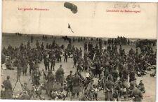 CPA Les Grandes Manoeuvres - Lancement du Ballon-signal (176080)