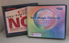 The Power of No & Your Magic Formula - 2 Nightingale Conant Audio CD Sets
