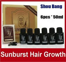 Sunburst Hair Nourishing Liquid 6*50ml hair growth products anti hair loss