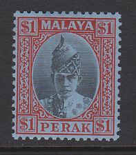 Perak 1938-41 $1 Nero & Rosso SG 119 MINT.