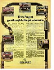 1975 PEUGEOT 504  ~  CLASSIC ORIGINAL PRINT AD