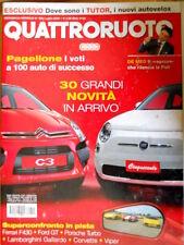 Quattroruote 609 2006 Confronto Ferrari F430, Porsche Turbo, Lamborghini [Q73]