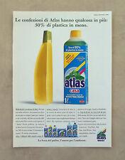 F099 - Advertising Pubblicità - 1992 - ATLAS DETERSIVO CASA