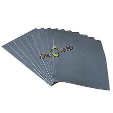 8pcs Gray Laser Rubber Sheet for Printing Engraving Sealer Stamp A4 2.3mm