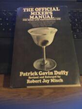 The Official Mixer's Manual , Patrick Gavin Duffy 1975 HC DJ, rev by Jay Misch