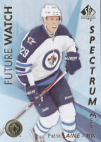 16-17 SP Authentic Patrik Laine Future Watch Spectrum Level 3 Jets Rookie 2016