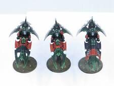 DRUKHARI REAVER JETBIKES - Painted Dark Eldar Reavers Warhammer 40k Army Rx2