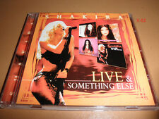 SHAKIRA cd LIVE & SOMETHING ELSE 17 hits OJOS ASI antologia WHENEVER WHEREVER