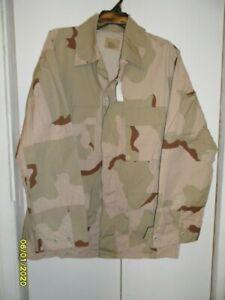 Desert Camo Shirt Jacket Sz Large Long BNWT