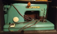 Vintage Sewing Machine Tula Model 1 Device Portable Case + Pedal USSR Soviet