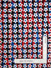 Patriotic Silver Pearl Stars Blue Cotton Fabric Star Spangled by Kanvas - Yard